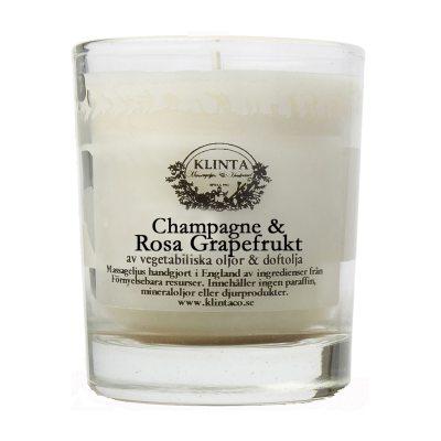 Massageljus, champange/grapefrukt 45h