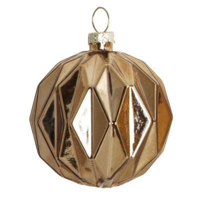 Mecury ornament L, guld