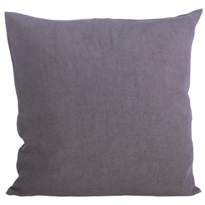 Simple kuddfodral 60×60 mörkgrå