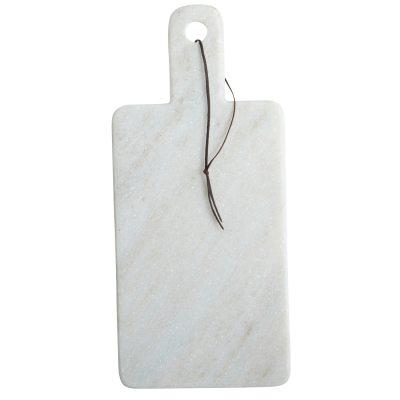 Cheese skärbräda vit marmor