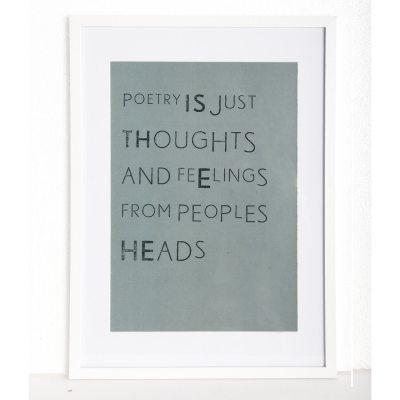Poetry tavla