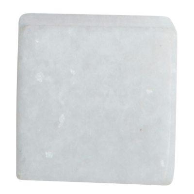 SQ knopp vit marmor