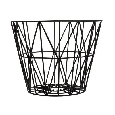 Wire korg S, svart