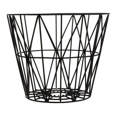 Wire korg M, svart