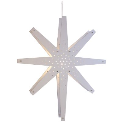Tall stjärna vit