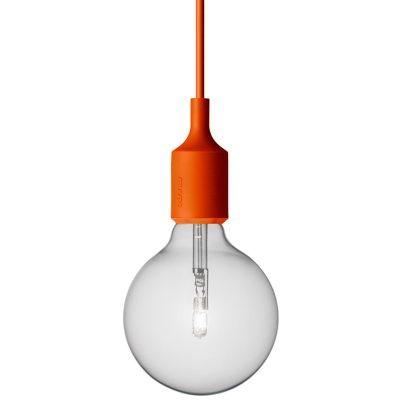 E27 lampa orange