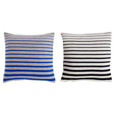 Simple Neon kudde blå/svart