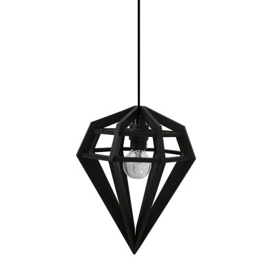 RAW lampa S, svart