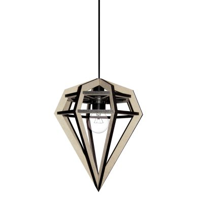RAW lampa S, natur
