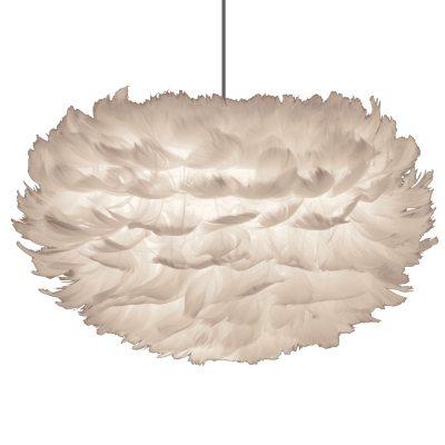 Bild av Eos fjäderlampa skärm M, vit