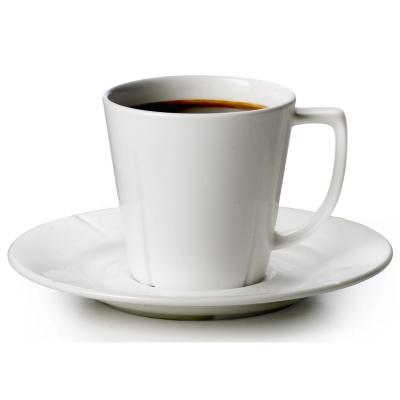 Grand Cru kaffekopp med fat, 4 st
