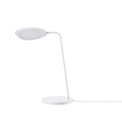 Leaf bordslampa vit