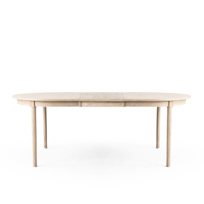 Wood H2 matbord, vitoljad ek