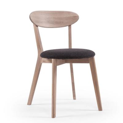 Wood Fold stol vitpigmenterad ek
