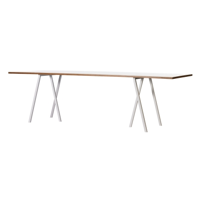 Loop Stand Table bord 160 cm vit