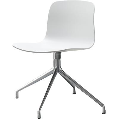 Bild av About a Chair 10 snurrstol, vit/aluminium