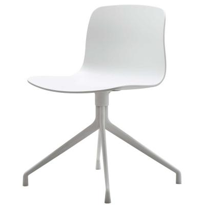 Bild av About a Chair 10 snurrstol, vit/vit