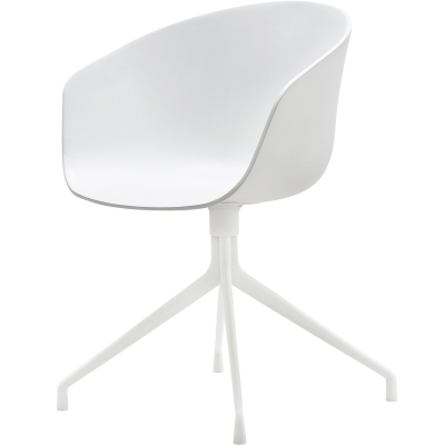 About a Chair 20 snurrstol vit/vit