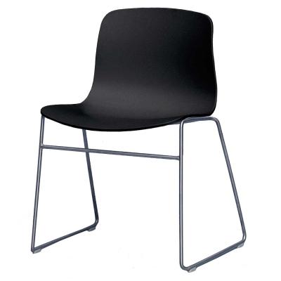 Bild av About a Chair 08, svart/rostfritt stål