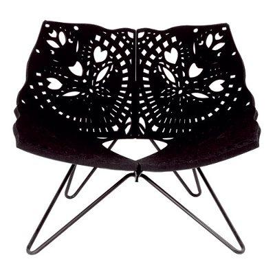 Prince Chair fåtölj svart