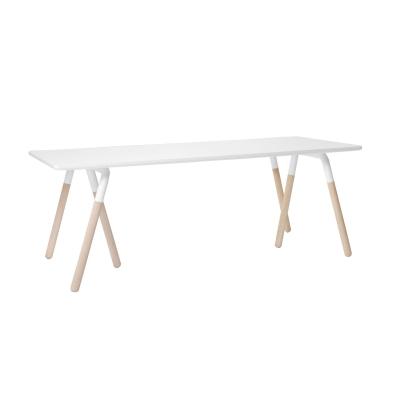 Raft bord vit/ek