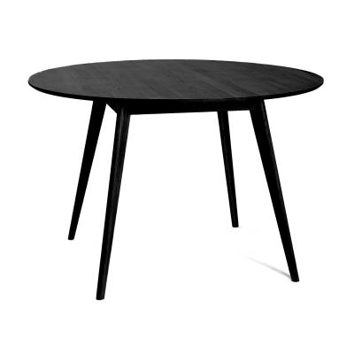 Bild av Nordik matbord, svart/ask