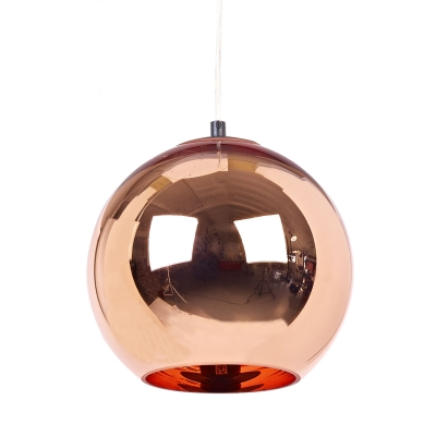 Copper Shade pendel small