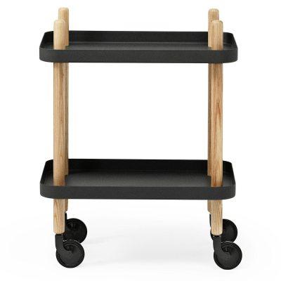 Block bord, svart i gruppen Möbler / Bord / Rullbord hos RUM21.se (124273)