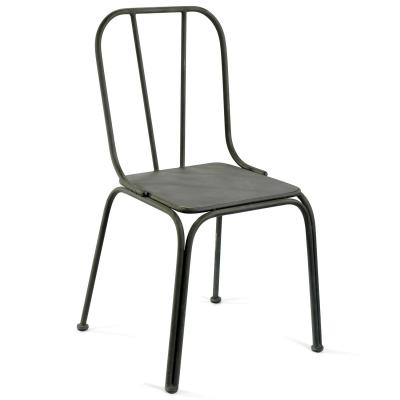 Downtown stol grå