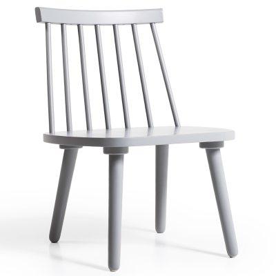 Bild av Wood loungestol H 19, grå