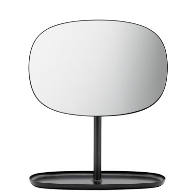 Flip spegel, svart