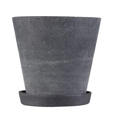 Flower Pot kruka M svart
