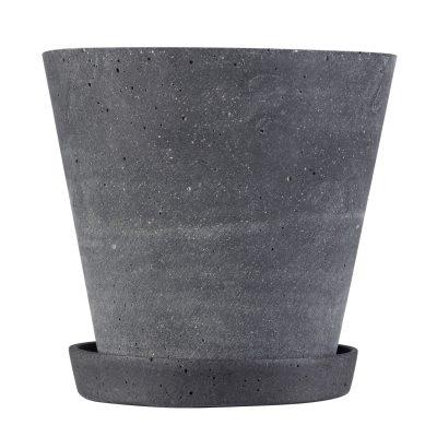 Flower Pot kruka L svart