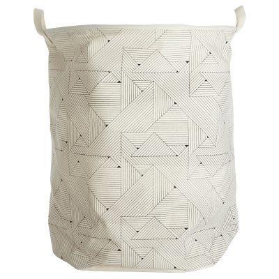 Triangular tvättkorg