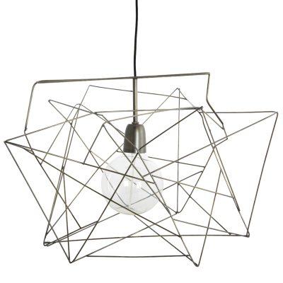 Asymmetric lampskärm järn