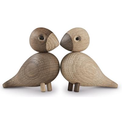 Bild av Kay Bojesen sångfågel Lovebirds