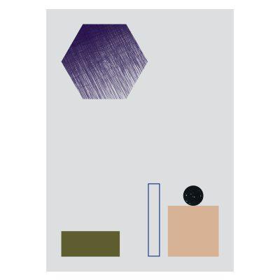 Bild av Geometry poster, no 2