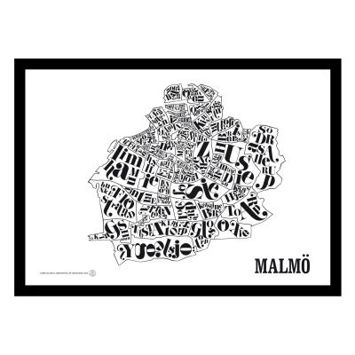 Malmökarta poster