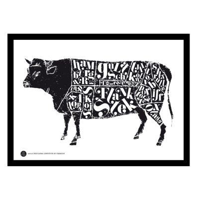 Bild av Cow poster