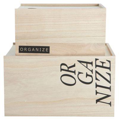 Organize förvaring no 3 2-pack
