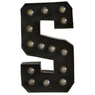 Letter S lampa