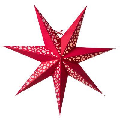 Grus Slim 60 julstjärna röd
