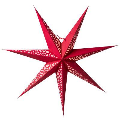 Grus Slim 80 julstjärna röd