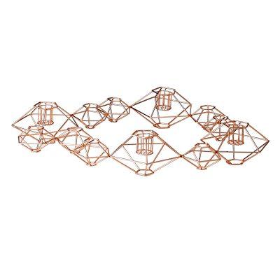 Bild av Diamond Line ljusstake, koppar