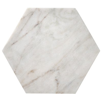Marble Hexagon bricka, M
