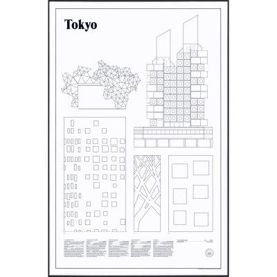 Bild av Tokyo Elevations poster