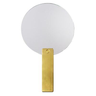 Bild av Mirror Mirror Round, mässing