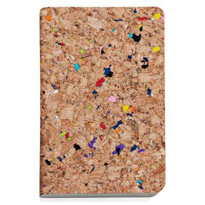 Cork anteckningsbok färg