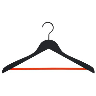 Bild av Soft galge 4-pack, svart/orange
