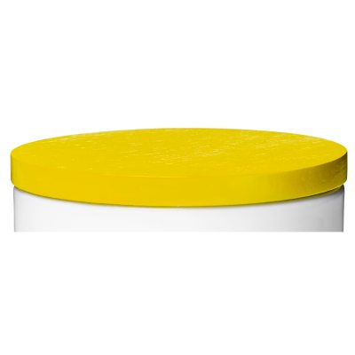 Lock till bokstavsmugg gul